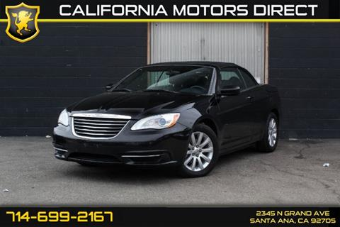 2011 Chrysler 200 Convertible for sale in Santa Ana, CA