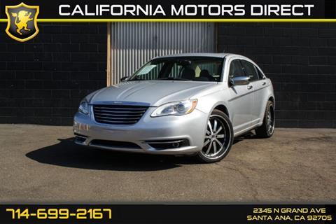 2012 Chrysler 200 for sale in Santa Ana, CA