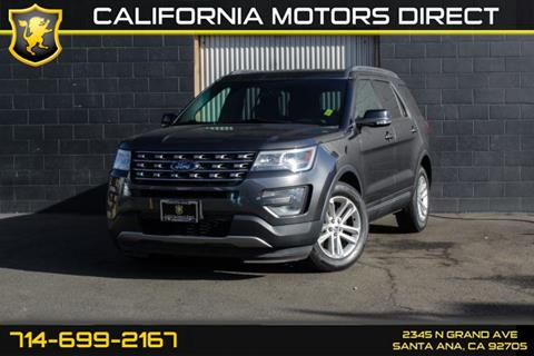 2016 Ford Explorer for sale in Santa Ana, CA