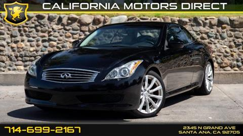 2010 Infiniti G37 Convertible for sale in Santa Ana, CA