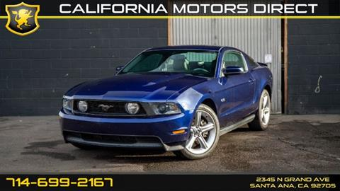 2011 Ford Mustang for sale in Santa Ana, CA
