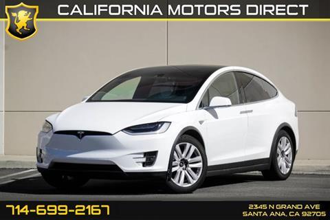 2016 Tesla Model X for sale in Santa Ana, CA