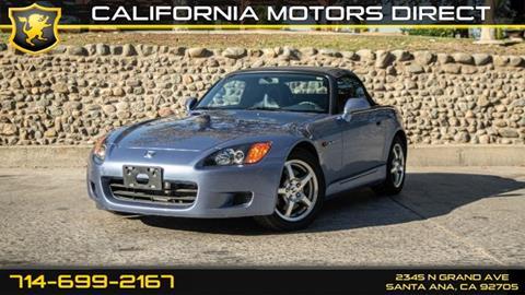 2002 Honda S2000 for sale in Santa Ana, CA