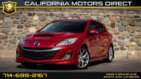 Mazdaspeed3 For Sale >> 2012 Mazda Mazdaspeed3 For Sale In Santa Ana Ca