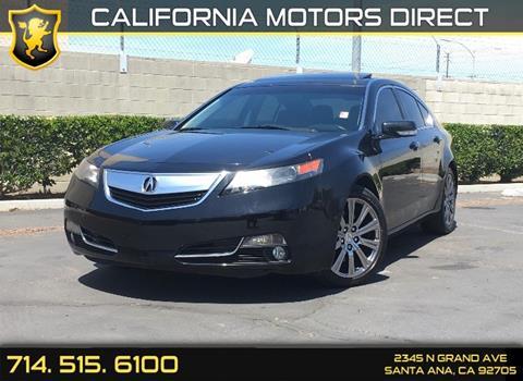 2013 Acura TL for sale in Santa Ana, CA