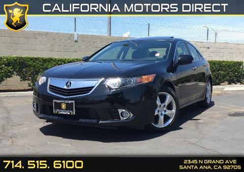 2014 Acura TSX for sale in Santa Ana, CA