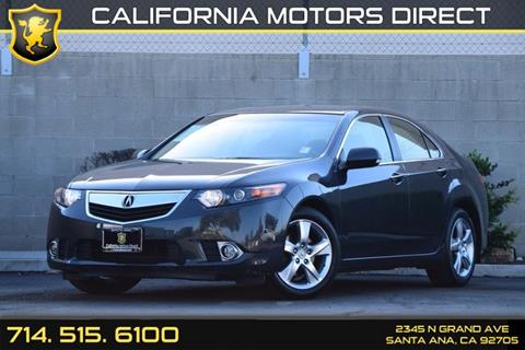 2013 Acura TSX for sale in Santa Ana, CA