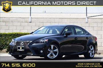 2014 Lexus IS 350 for sale in Santa Ana, CA