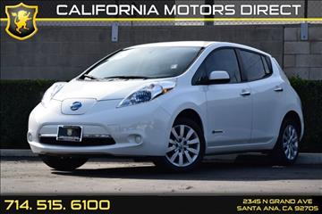 2013 Nissan LEAF for sale in Santa Ana, CA