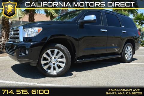 2014 Toyota Sequoia for sale in Santa Ana, CA