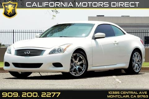 2009 Infiniti G37 Convertible for sale in Montclair, CA