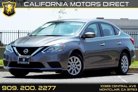 2016 Nissan Sentra for sale in Montclair, CA