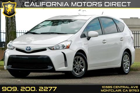 2015 Toyota Prius v for sale in Montclair, CA