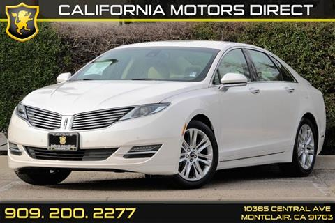 2014 Lincoln MKZ Hybrid for sale in Montclair, CA