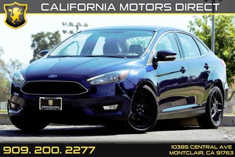 2016 Ford Focus for sale in Montclair, CA