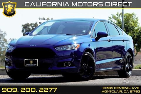 2016 Ford Fusion for sale in Montclair, CA