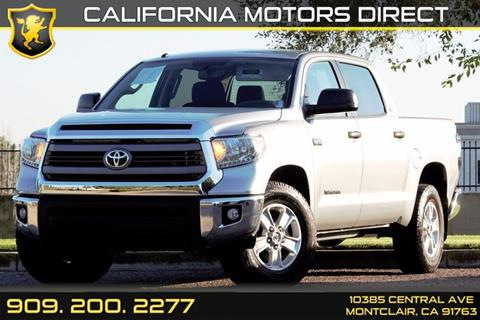 2016 Toyota Tundra for sale in Montclair, CA