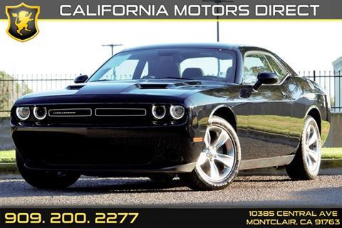 2016 Dodge Challenger for sale in Montclair, CA