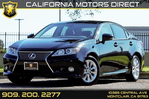 2014 Lexus ES 300h for sale in Montclair, CA