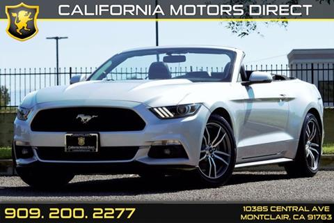 2016 Ford Mustang for sale in Montclair, CA