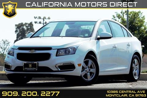 2016 Chevrolet Cruze Limited for sale in Montclair, CA
