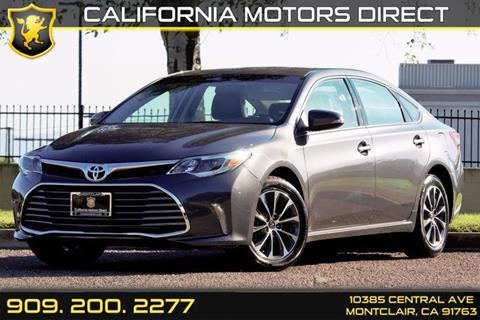 2016 Toyota Avalon for sale in Montclair, CA