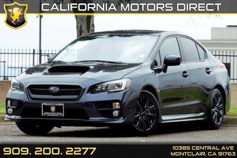 2015 Subaru WRX for sale in Montclair, CA
