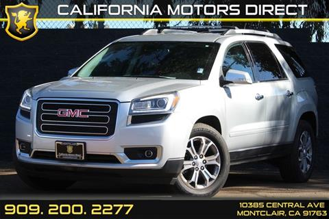 2015 gmc acadia for sale for California motors direct montclair