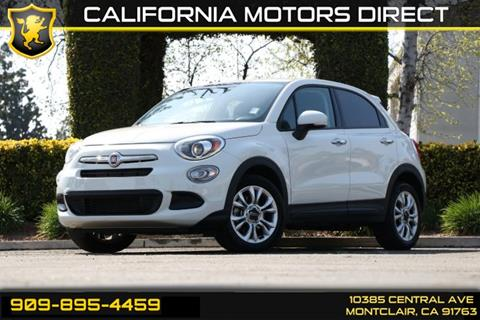 2016 FIAT 500X for sale in Montclair, CA