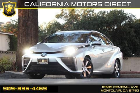 2016 Toyota Mirai for sale in Montclair, CA