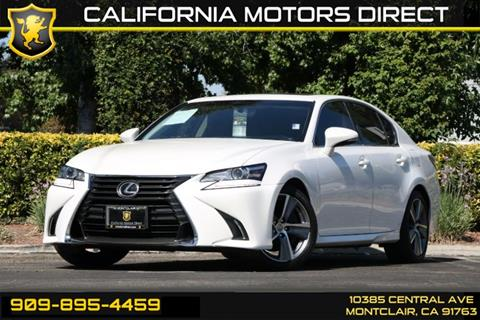 2016 Lexus GS 200t for sale in Montclair, CA