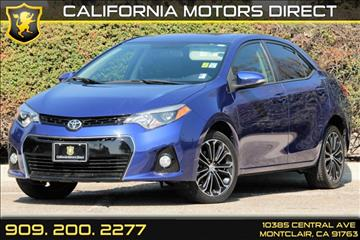 2014 Toyota Corolla for sale in Montclair, CA