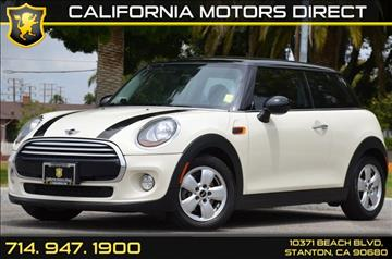 2014 MINI Hardtop for sale in Stanton, CA