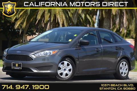 2016 Ford Focus for sale in Stanton, CA