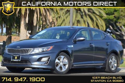 2014 Kia Optima Hybrid for sale in Stanton, CA