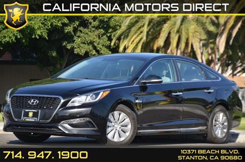 2016 Hyundai Sonata Hybrid for sale in Stanton, CA