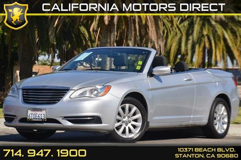 2011 Chrysler 200 Convertible for sale in Stanton, CA