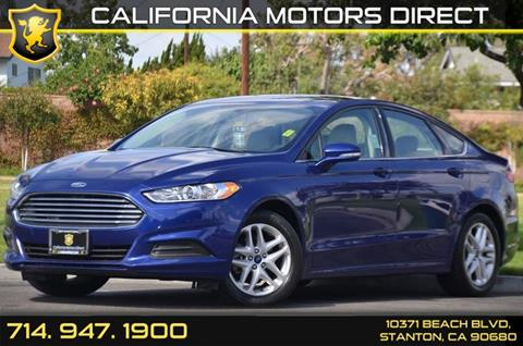 2014 Ford Fusion for sale in Stanton, CA