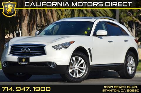2016 Infiniti QX70 for sale in Stanton, CA
