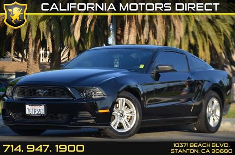 2014 Ford Mustang for sale in Stanton, CA