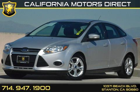 2014 Ford Focus for sale in Stanton, CA