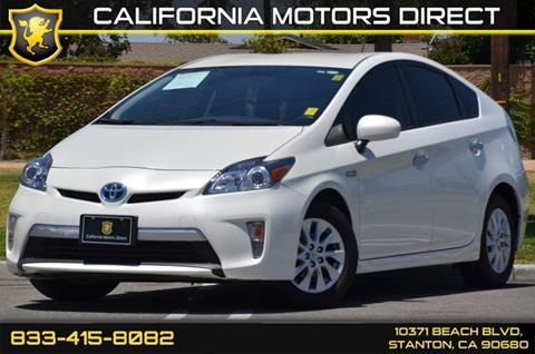 2015 Toyota Prius Plug In Hybrid For Sale In Stanton, CA