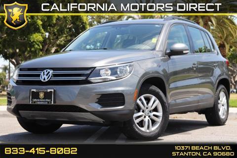 2016 Volkswagen Tiguan for sale in Stanton, CA