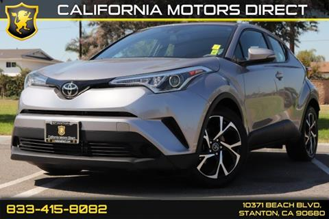 2018 Toyota C-HR for sale in Stanton, CA