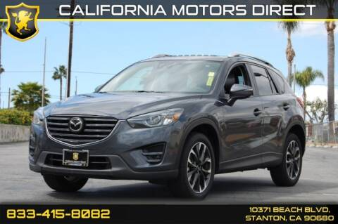 2016 Mazda CX-5 for sale at CALIFORNIA MOTORS DIRECT in Stanton CA