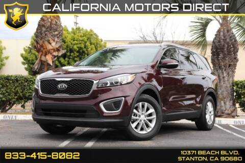 2017 Kia Sorento LX for sale at CALIFORNIA MOTORS DIRECT in Stanton CA
