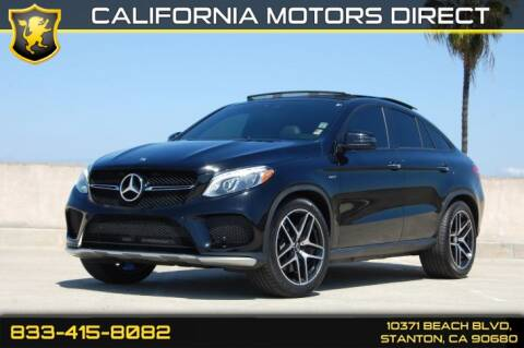 2016 Mercedes-Benz GLE GLE 450 AMG for sale at CALIFORNIA MOTORS DIRECT in Stanton CA