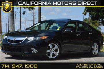 2013 Acura TSX for sale in Stanton, CA