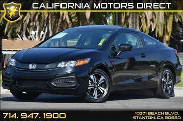 2015 Honda Civic for sale in Stanton, CA