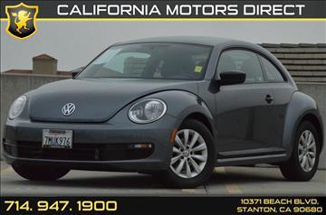 2016 Volkswagen Beetle for sale in Stanton, CA